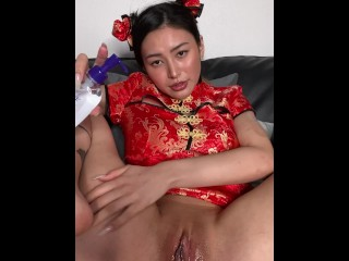Halloween Special Oily Massage With Rae Lil Black