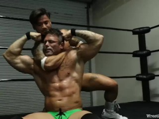 Asian Destroys His Muscular Partner