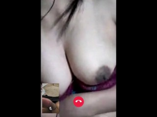Shy Philippina Girl Shows Her Nice Boobs