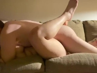 Fun Ass Twerk And A Hard Fuck Sexy Spanish Girl On The Couch Living Room Fuck Sesh With My Girl